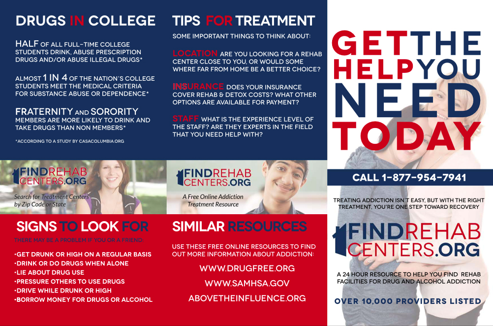 Find Rehab Centers Brochure