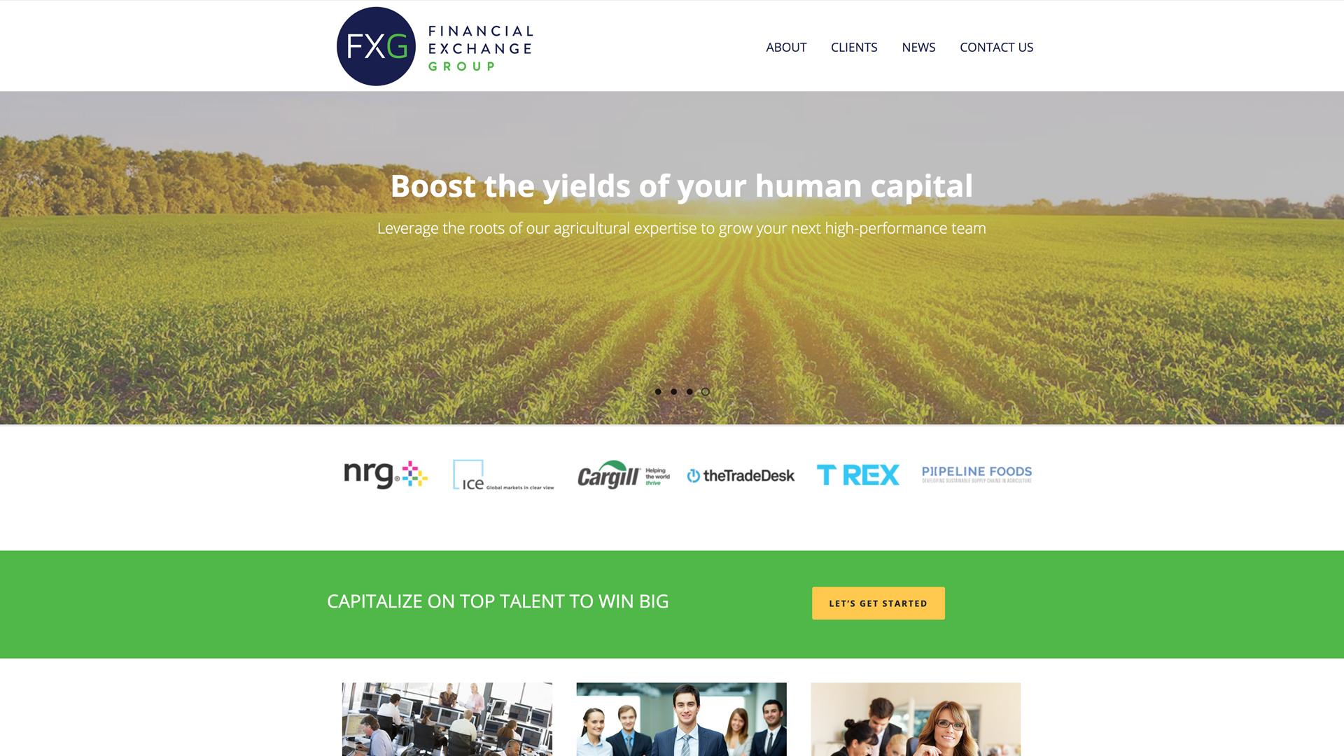 Recent Work: Financial Exchange Group