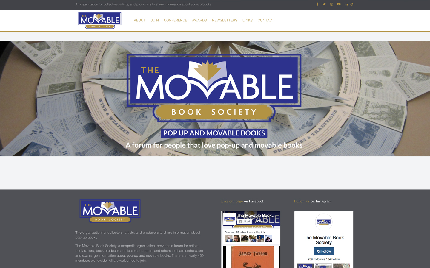 Recent Work: Movable Book Society